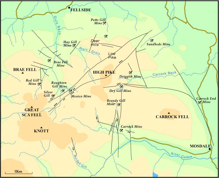 Caldbeck Fells - Steetley Minerals