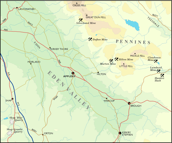 eden valley map