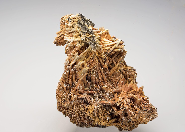 Cerussite, Redburn Mine, Rookhope. 1110x60x180mm. Ex. Lindsay Greenbank