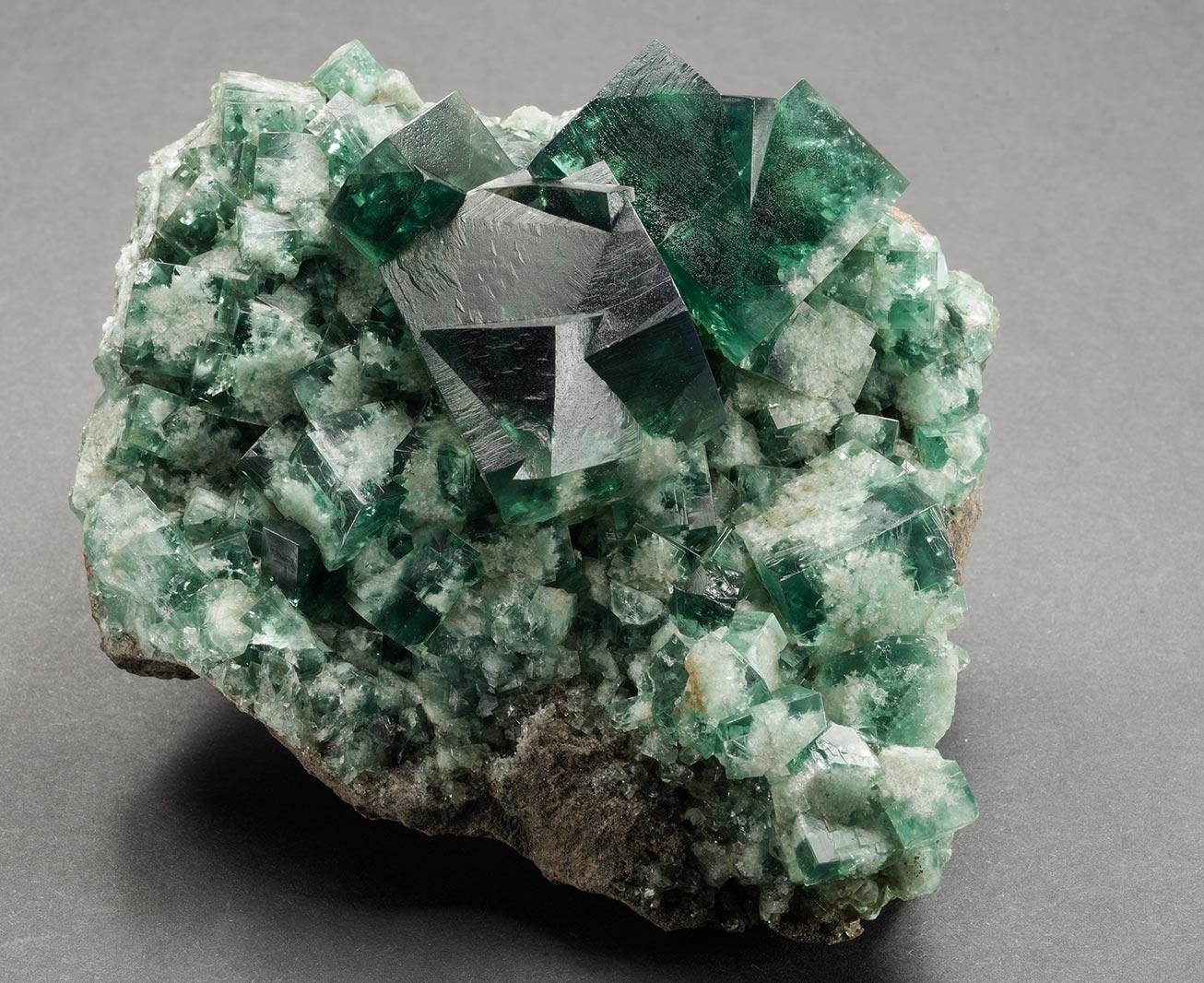 Fluorite, Rogerley mine,Stanhope, Weardale. 95x80x45mm