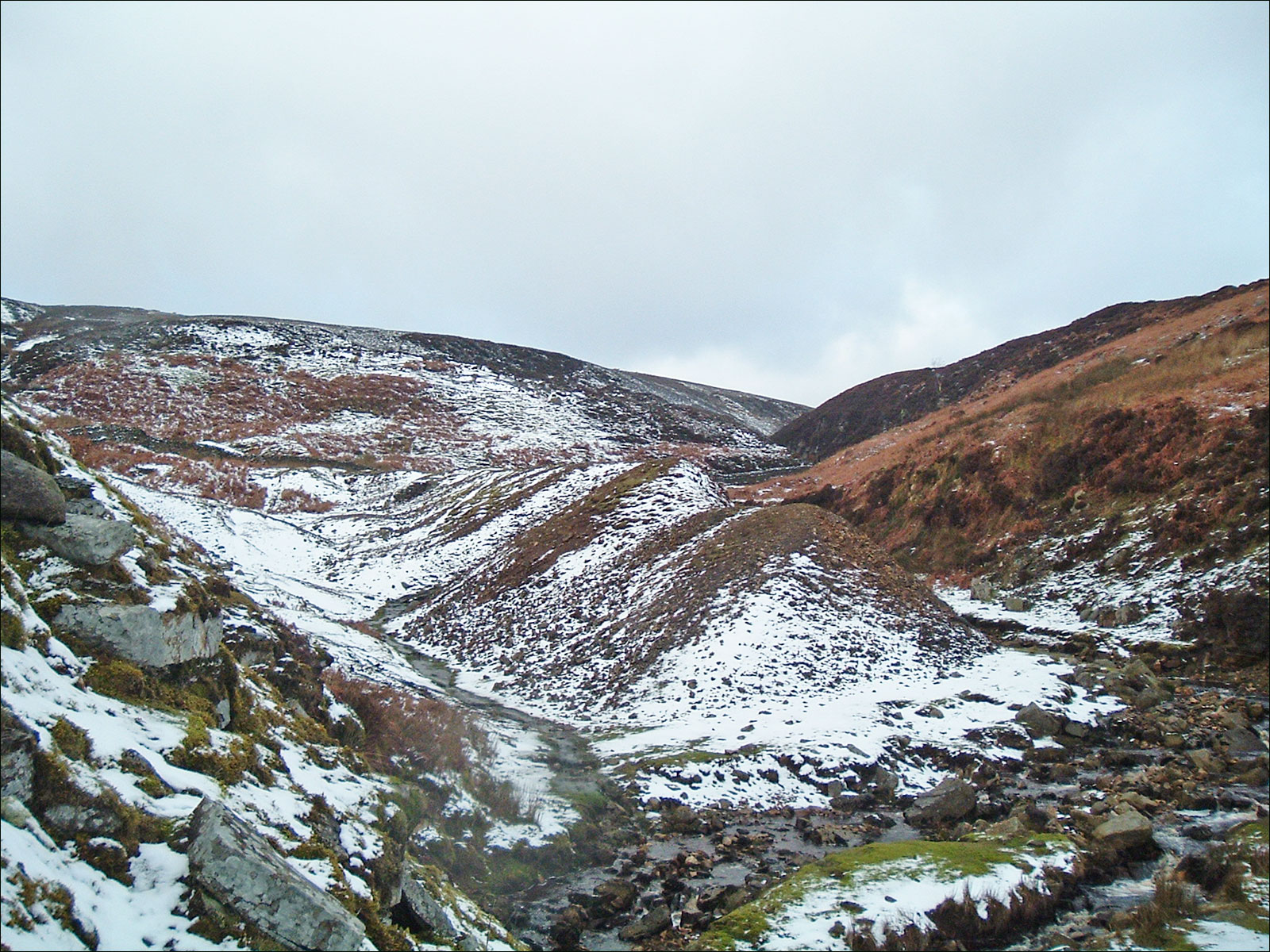 Barras End mine, Swaledale, Main dumps