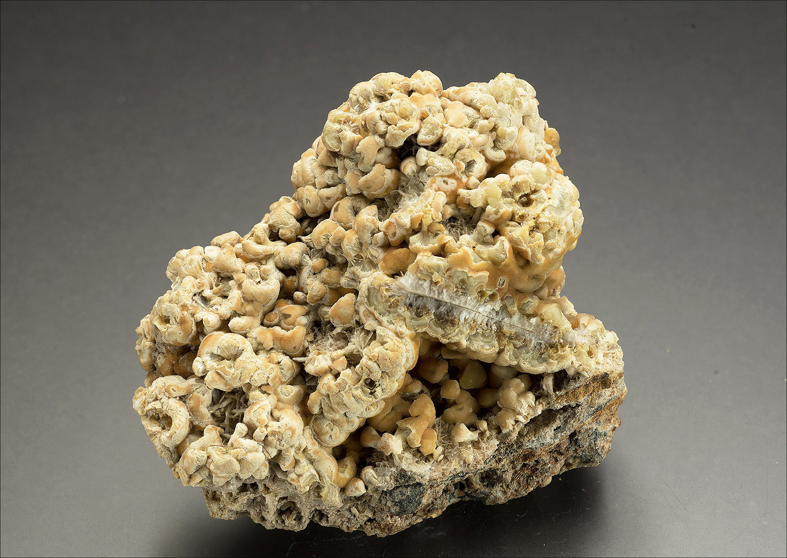 Smithsonite, Buckden Gavel mine, Wharfedale.  70x70x45mm