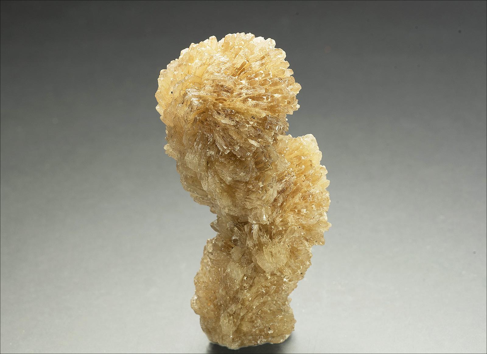 Barite stalagmite, Tanner Rake, Arkengarthdale.  35x30x80mm