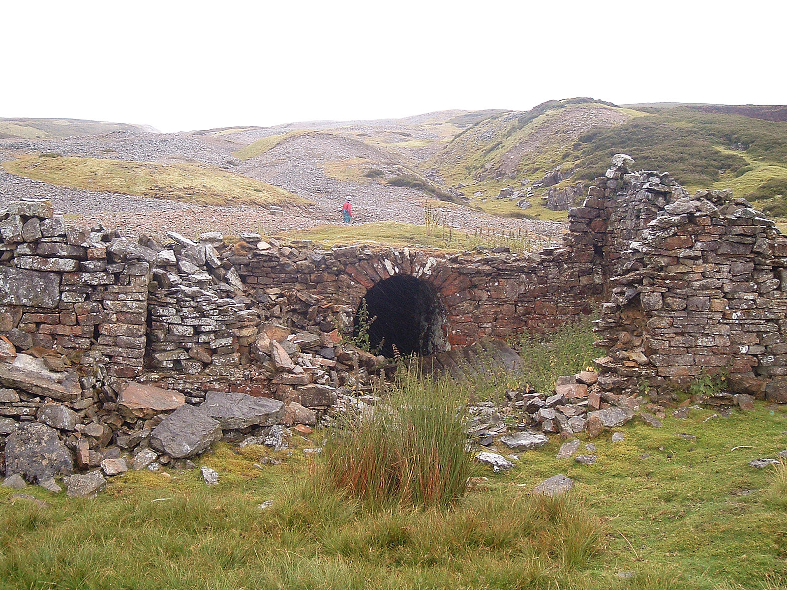 Level at Whitaside mine, Swaledale.